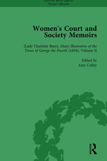 Women's Court and Society Memoirs, Part I Vol 2 book cover