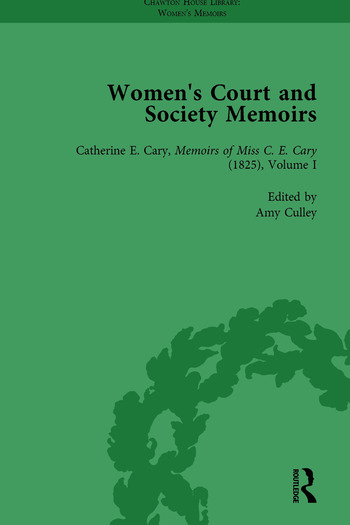 Women's Court and Society Memoirs, Part I Vol 3 book cover