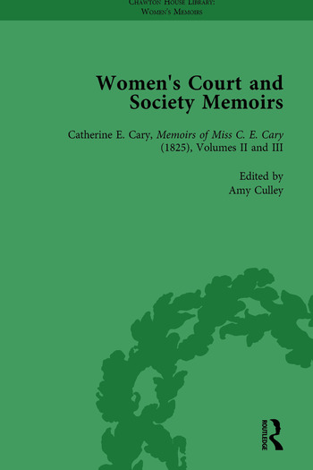 Women's Court and Society Memoirs, Part I Vol 4 book cover