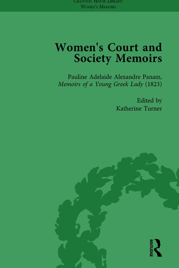 Women's Court and Society Memoirs, Part II vol 7 book cover