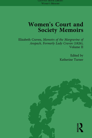 Women's Court and Society Memoirs, Part II vol 9 book cover