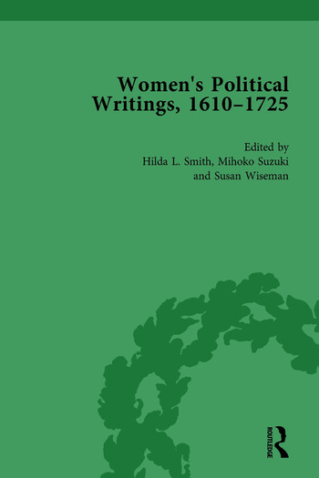 Women's Political Writings, 1610-1725 Vol 2 book cover