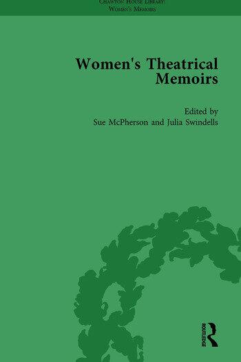 Women's Theatrical Memoirs, Part II vol 8 book cover