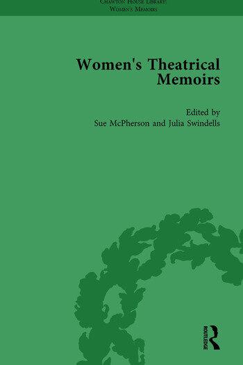 Women's Theatrical Memoirs, Part II vol 9 book cover