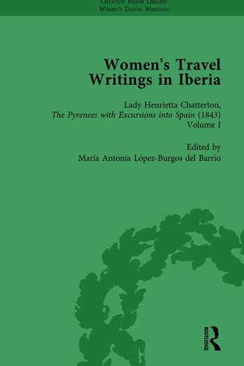 Women's Travel Writings in Iberia Vol 3 book cover