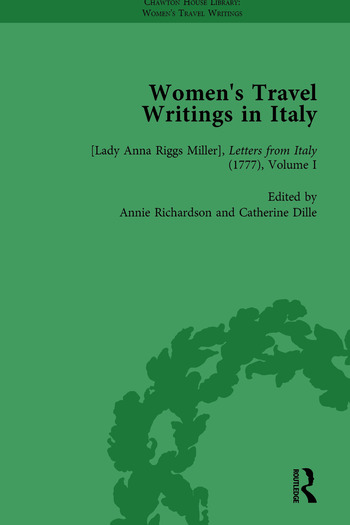 Women's Travel Writings in Italy, Part I Vol 1 book cover