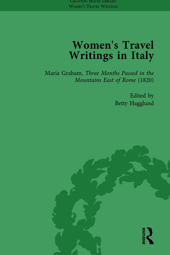 Women's Travel Writings in Italy, Part II vol 5 book cover