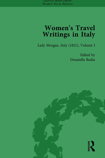 Women's Travel Writings in Italy, Part II vol 6 book cover
