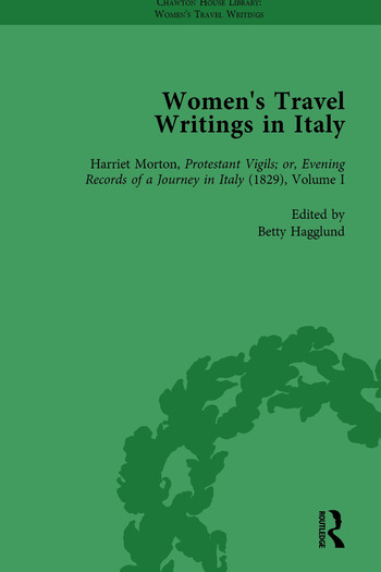 Women's Travel Writings in Italy, Part II vol 8 book cover