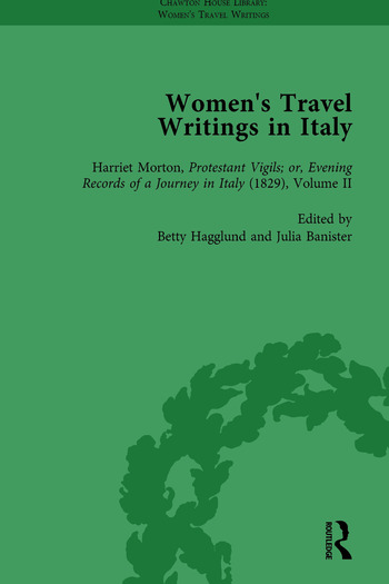 Women's Travel Writings in Italy, Part II vol 9 book cover