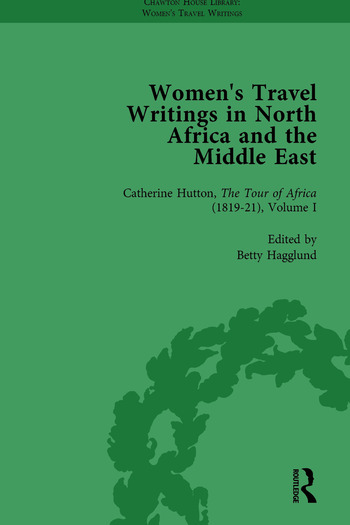 Women's Travel Writings in North Africa and the Middle East, Part II vol 4 book cover