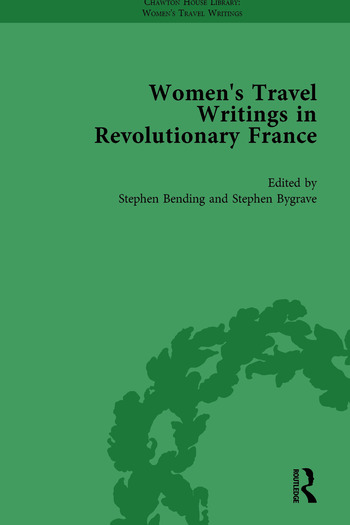 Women's Travel Writings in Revolutionary France, Part I Vol 3 book cover