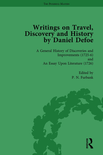 Writings on Travel, Discovery and History by Daniel Defoe, Part I Vol 4 book cover