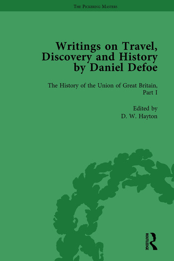 Writings on Travel, Discovery and History by Daniel Defoe, Part II vol 7 book cover