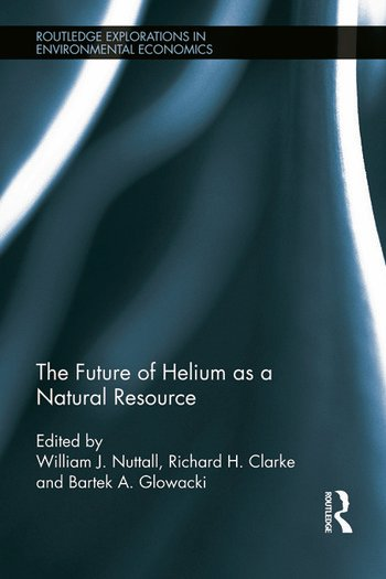 The Future of Helium as a Natural Resource book cover