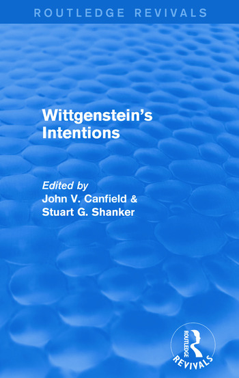 Wittgenstein's Intentions (Routledge Revivals) book cover