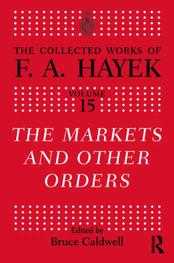 The Market and Other Orders book cover