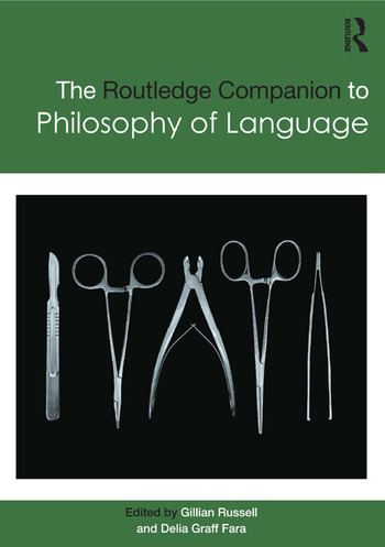 Routledge Companion to Philosophy of Language book cover