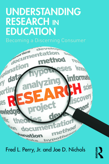 Understanding Research in Education Becoming a Discerning Consumer book cover