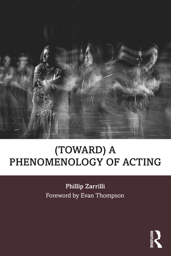 (toward) a phenomenology of acting book cover