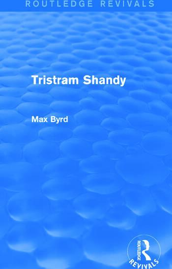 Tristram Shandy (Routledge Revivals) book cover
