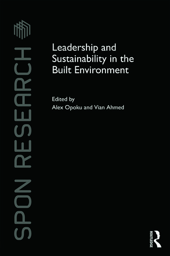 Leadership and Sustainability in the Built Environment book cover