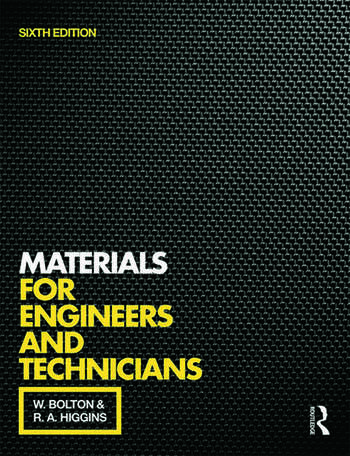 Materials for Engineers and Technicians, 6th ed book cover