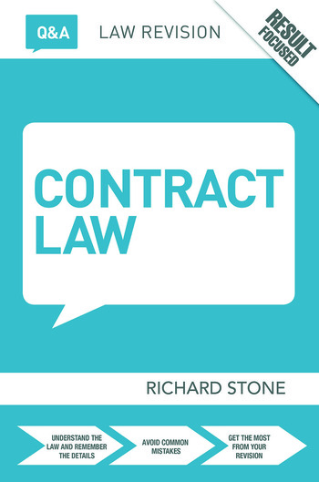Q&A Contract Law book cover
