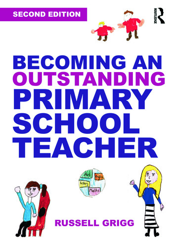Becoming an Outstanding Primary School Teacher book cover