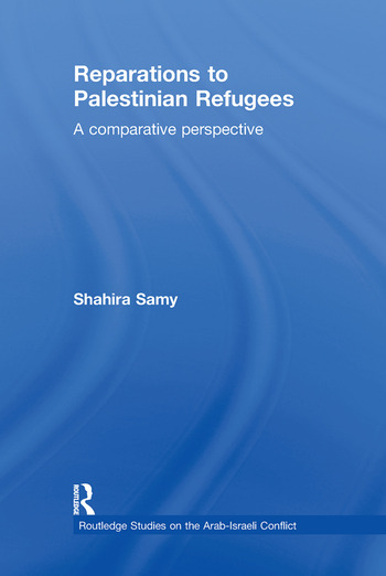 Reparations to Palestinian Refugees A Comparative Perspective book cover