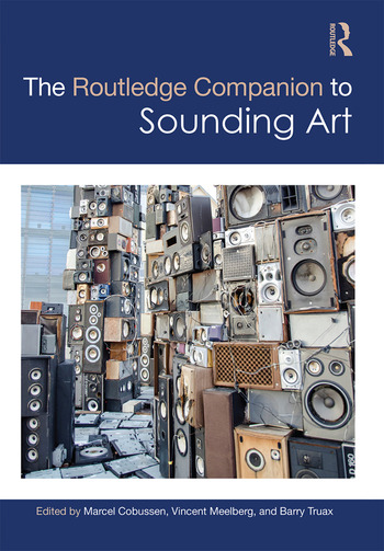 The Routledge Companion to Sounding Art book cover
