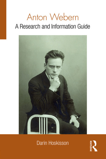 Anton Webern A Research and Information Guide book cover