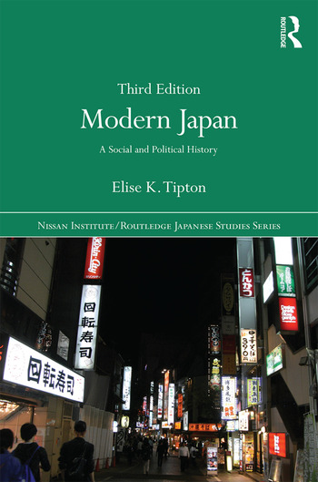 Modern Japan A Social and Political History book cover