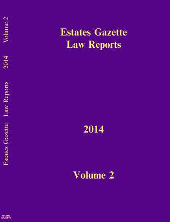 EGLR 2014 V2 book cover