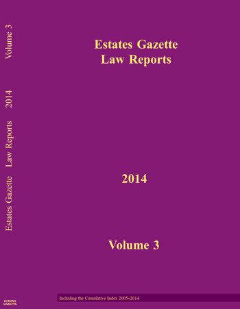 EGLR 2014 V3 book cover
