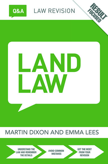 Q&A Land Law book cover