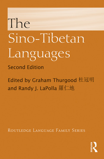 The Sino-Tibetan Languages book cover