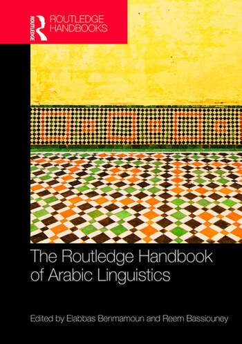 The Routledge Handbook of Arabic Linguistics book cover