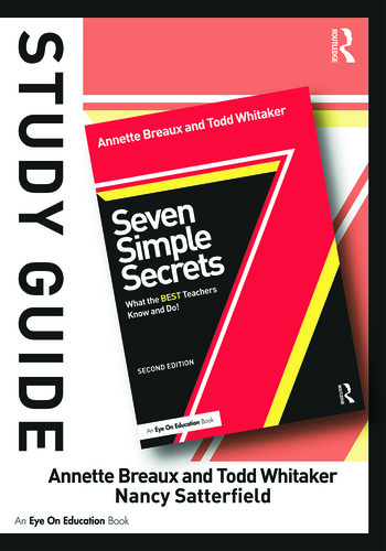 Study Guide, Seven Simple Secrets What the BEST Teachers Know and Do! book cover