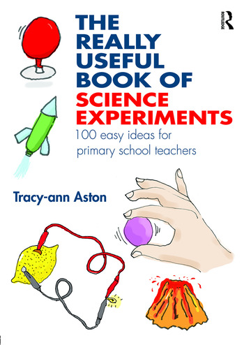 The Really Useful Book of Science Experiments 100 easy ideas for primary school teachers book cover