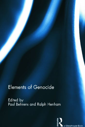 Elements of Genocide book cover