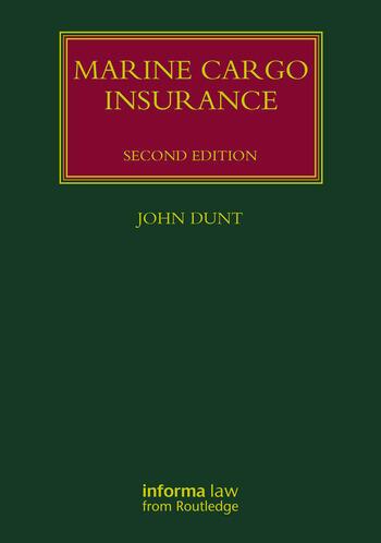 Marine Cargo Insurance book cover