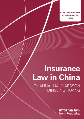 Insurance Law in China book cover