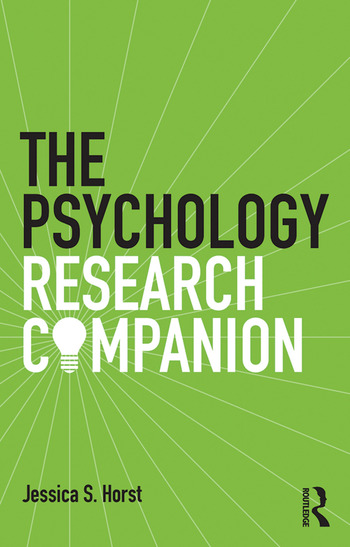 The Psychology Research Companion From student project to working life book cover