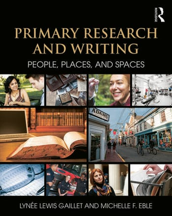 Primary Research and Writing People, Places, and Spaces book cover
