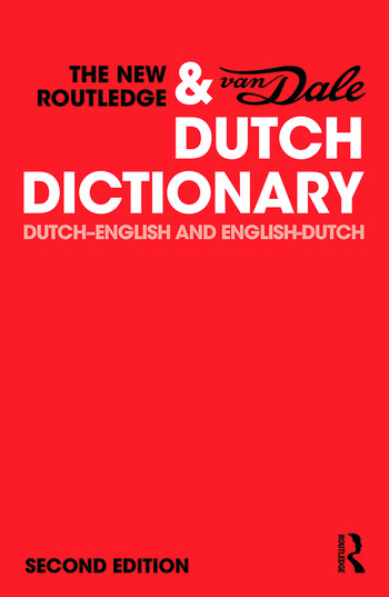The New Routledge & Van Dale Dutch Dictionary Dutch-English and English-Dutch book cover