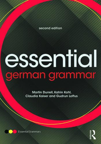Essential German Grammar book cover