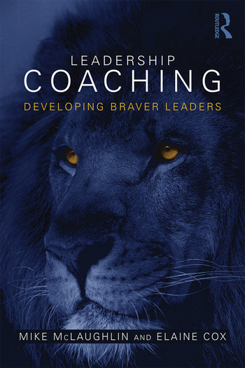 Leadership Coaching Developing braver leaders book cover