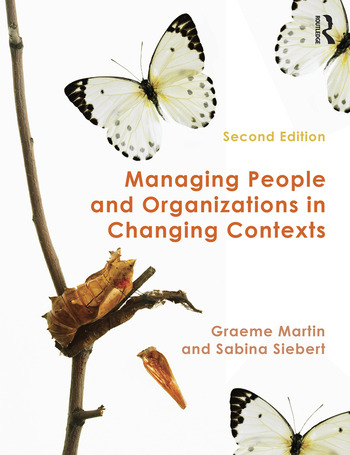 Managing People and Organizations in Changing Contexts book cover
