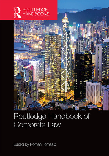 Routledge Handbook of Corporate Law book cover